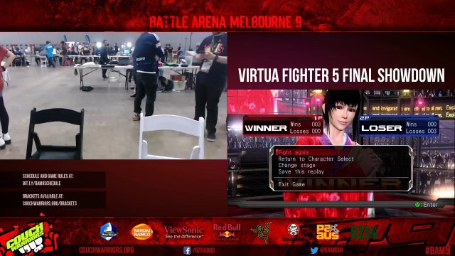 BAM9: Virtua Fighter 5 Final Showdown
