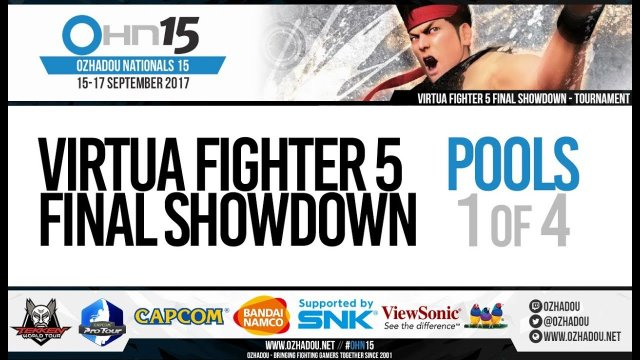 OHN15 Virtua Fighter 5 Final Showdown Pools (1/4)