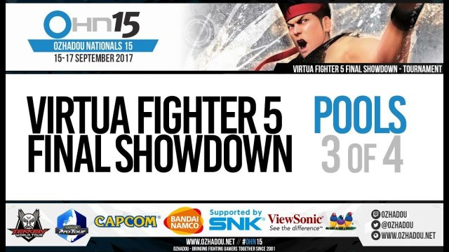 OHN15 - Virtua Fighter 5 Final Showdown Pools (3/4)