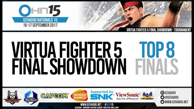 OHN15 - Virtua Fighter 5 Final Showdown Top 8