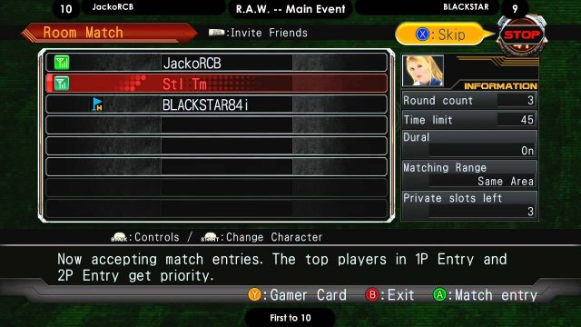 R.A.W. #7!  JackoRCB vs. BLACKSTAR, FT10!!  The Judgement 6 B.Sarah Death Match Special!!!