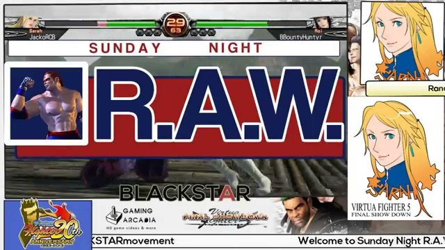 This is Sunday Night R.A.W. #24!!! BBountyHuntyr vs. JackoRCB!