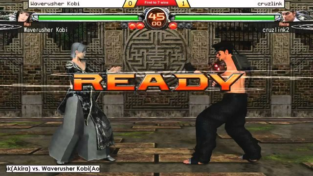 This is Sun...MONDAY Night R.A.W. #31! (part 1) cruzlink vs. Waverusher Kobi, FT7! #VF5FS #SEGA #VFD