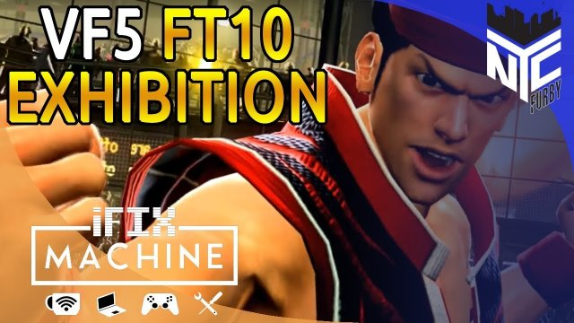 [ Virtua Fighter 5 ] IFixMachine - VF Saturdays FT10 Exhibition (Rodney vs Tricky) [1080p/60fps]