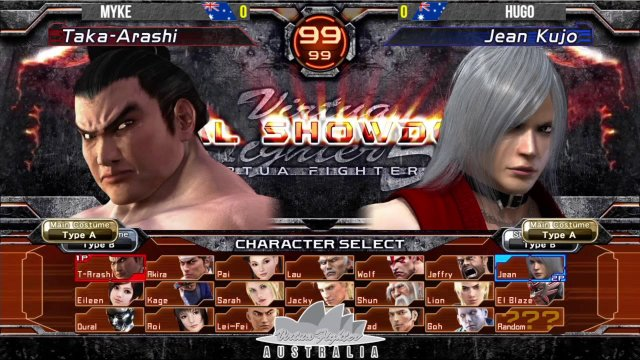 Virtua Fighter 5 Final Showdown - York Street Battles #62