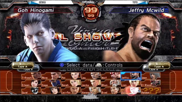 Virtua Fighter 5 Final Showdown - York Street Battles #63