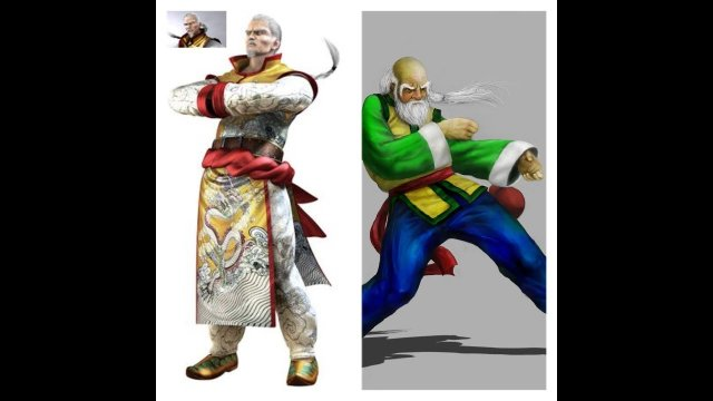 Virtua Fighter 5 Final Showdown  Lau Chan & Shun Di combo showcase