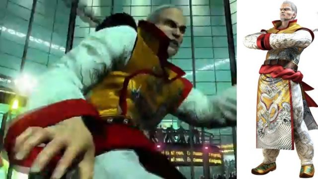 Virtua Fighter 5 Final Showdown Classic Lau Chan Battles