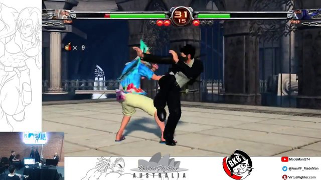 Virtua Fighter Casuals - Battle Kat Bunker (10.10.2018)