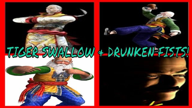 VIRTUA FIGHTER 5 FINAL SHOWDOWN-  Tiger Swallow & Drunken Fists! (Lau & Shun Battles.)