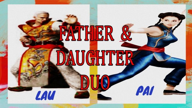 Virtua Fighter 5: Final Showdown gameplay Xbox Live- Father & Daughter Duo. (Lau & Pai Chan) X