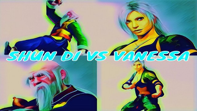 VF5FS Gameplay Xbox Live- Rival Rank Matches- Shun Di vs Vanessa.