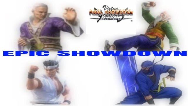 VF5FS Xbox Live Gameplay- Epic Showdown (Lau/Shun vs Akira/Kage)