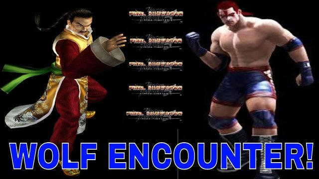 Virtua Fighter 5 Final Showdown Gameplay- Wolf Encounter! (Lau vs Wolf)