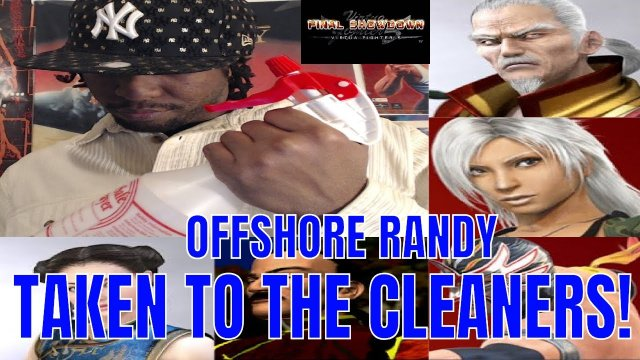 Virtua Fighter 5: Final Showdown- Offshore Randy taken to the Cleaners! (Xbox Live)