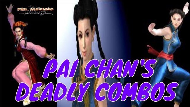 Virtua Fighter 5: Final Showdown- Pai Chan Deadly Combos! (Xbox Live Gameplay)