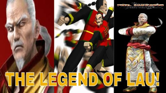 Virtua Fighter 5: Final Showdown- The Legend of LAU! (Lau Chan Gameplay, Xbox Live/ PSN)