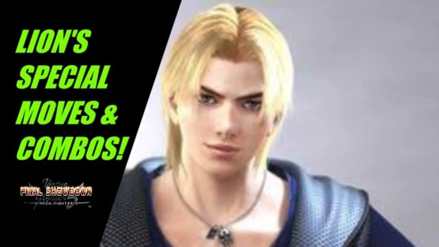 Virtua Fighter 5: Final Showdown- Lion Special Moves & Combos! (Xbox live/ PSN gameplay)