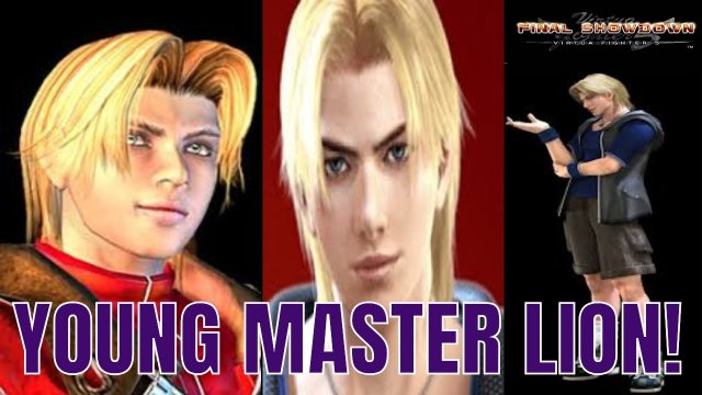 Virtua Fighter 5: Final Showdown- Young Master Lion! (Xbox Live/ PSN Gameplay)