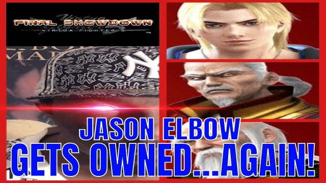 Virtua Fighter 5: Final Showdown- Jason Elbow gets OWNED!...AGAIN! (Xbox live gameplay)