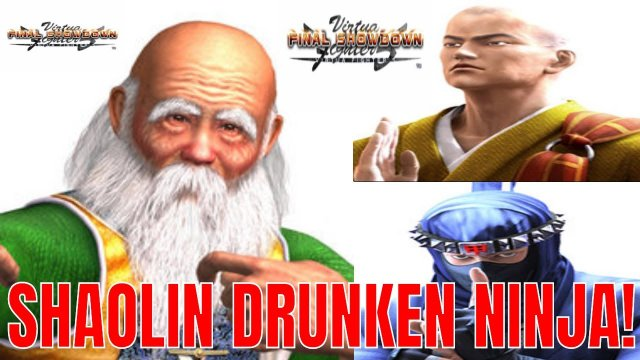 Virtua Fighter 5: Final Showdown- Shaolin Drunken Ninja! (Shun Di, Kage, Lei-Fei gameplay)