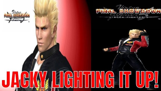 Virtua Fighter 5: Final Showdown- JACKY BRYANT LIGHTING IT UP! (Jacky Combo presentation)