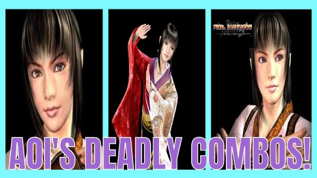 Virtua Fighter 5: Final Showdown- Aoi Umenokouji's Deadly Combos! (Xbox Live Gameplay)