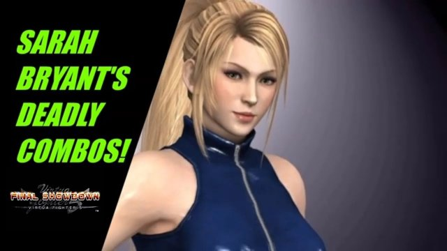 Virtua Fighter 5: Final Showdown- SARAH BRYANT'S DEADLY COMBOS! (Gameplay)