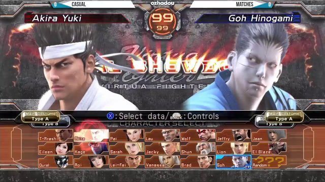 Virtua Fighter 5 Final Showdown - York Street Battles #69