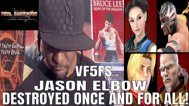 VF5FS- JASON ELBOW DESTROYED, ONCE AND FOR ALL! (Pai/ El Blaze/ Lion gameplay)