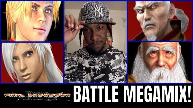 Virtua Fighter 5: Final Showdown- BATTLE MEGAMIX! (Lau, Shun Di, Pai, Lion VF5FS)