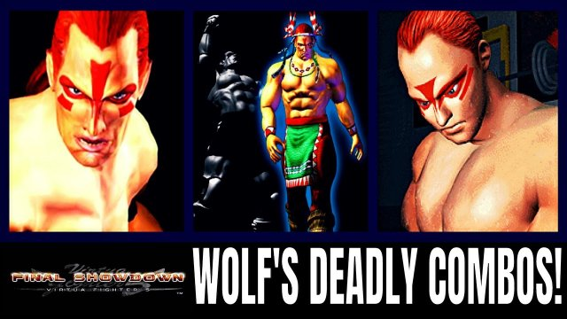 Virtua Fighter 5: Final Showdown- WOLF HAWKFIELD'S DEADLY COMBOS! (VF5FS Gameplay)