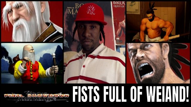 Virtua Fighter 5: Final Showdown- FISTS FULL OF WEIAND! (Shun Di & Jeffry VF5FS Matches)