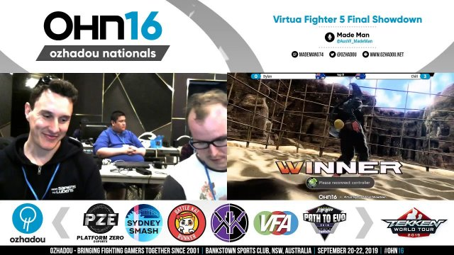 OHN16 - Virtua Fighter 5 Final Showdown - Pools + Finals