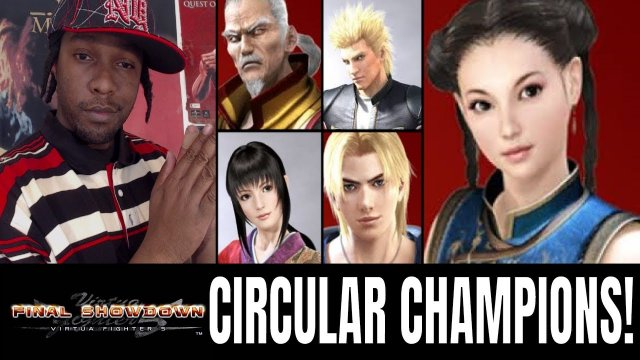 Virtua Fighter 5: Final Showdown- CIRCULAR CHAMPIONS! (VF5FS Gameplay)