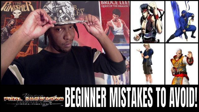 Virtua Fighter 5: Final Showdown- Beginner Mistakes to Avoid! (VF5FS Advice)