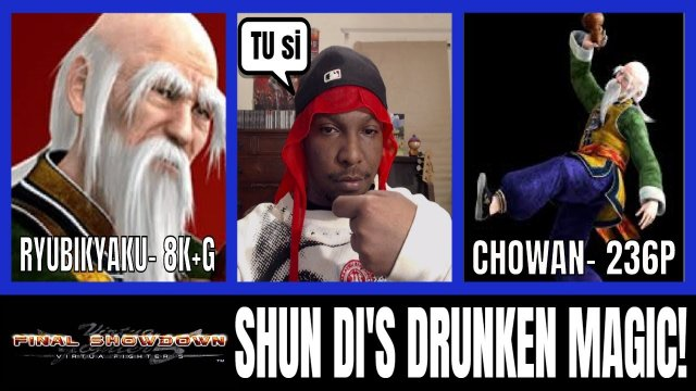 SHUN'S DRUNKEN MAGIC- Virtua Fighter 5: Final Showdown- VF5FS Shun Di vs Akira matches- (Xbox 360)