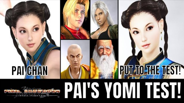 PAI CHAN'S YOMI TEST! (Virtua Fighter 5: Final Showdown)- VF5FS Xbox 360 Matches.