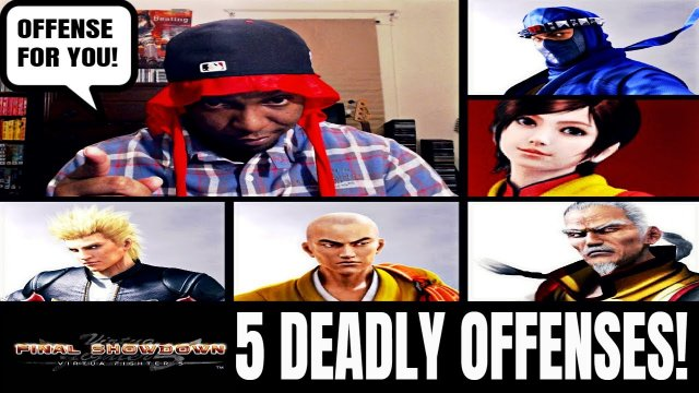 5 DEADLY OFFENSES! (Virtua Fighter 5: Final Showdown)- VF5FS Gameplay & Discussion.