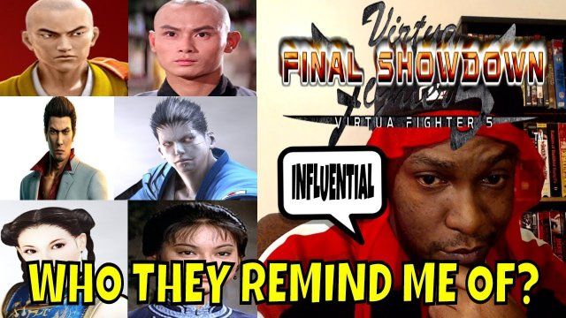 VF5FS- WHO THEY REMIND ME OF? (Virtua Fighter 5: Final Showdown)- FGC, Gaming Discussion.