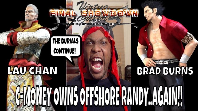 VF5FS- I OWN RANDY REESE! EP.3 (Virtua Fighter 5: Final Showdown)- Lau Chan Matches, FGC & Rant.