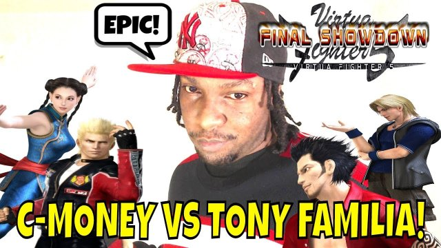VF5FS- C-MONEY VS Dr. FAMILIA! (Virtua Fighter 5: Final Showdown)- Jacky Bryant & Pai Chan Matches.