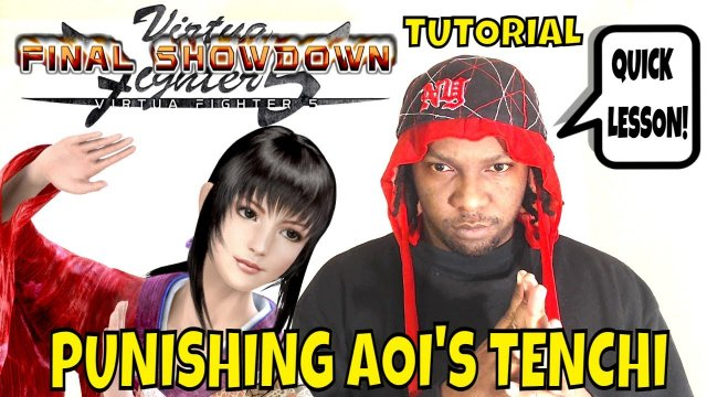 VF5FS- PUNISHING AOI'S TENCHI STANCE!- (Virtua Fighter 5: Final Showdown)- Gameplay, Tutorial, FGC.
