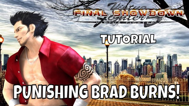 VF5FS- PUNISHING BRAD BURNS! (Virtua Fighter 5: Final Showdown)- Jacky & Sarah Bryant Gameplay, FGC.