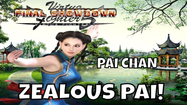VF5FS- ZEALOUS PAI. (Virtua Fighter 5: Final Showdown)- Pai Chan Matches, FGC, Gaming.