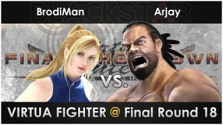 Virtua Fighter @ Final Round 18 -- hosted by BLACKSTAR