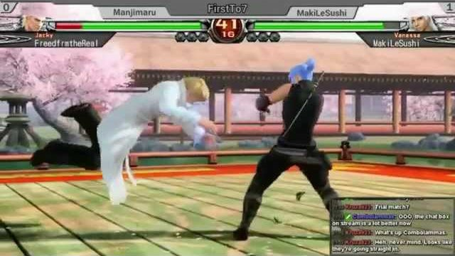 16th EBC: MakiLeSushi (VA) vs Manjimaru (JA) FT7