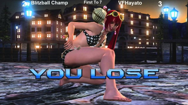 BBChamp Hitlist #3 - Blitzball Champ vs VFHayato III - FT10 - Virtua Fighter 5 Final Showdown