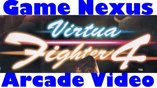Game Nexus Arcade Video Virtua Fighter 4 Ver C Lei Fei Gameplay (2001 Naomi 2 GD-Rom) Real Hardware