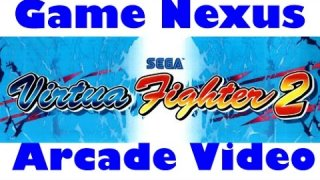 Game Nexus Arcade Video Virtua Fighter 2 (1994 Sega Model 2) Real Hardware